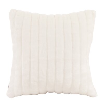 Nia Throw Pillow Size: Small, Color: Mink Snow