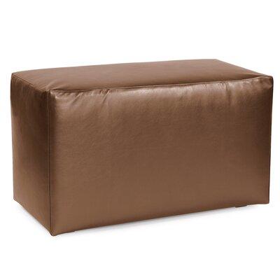 Josie Bench Slipcover Upholstery: Shimmer Bronze