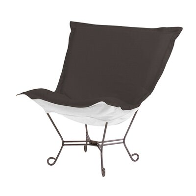 Claribel Lounge Chair Color: Seascape Charcoal