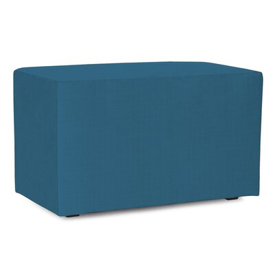 Fenham Bench Cover Color: Seascape Turquoise