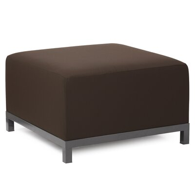 Woodsen Ottoman Slipcover Upholstery: Seascape Chocolate