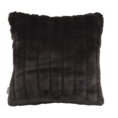 Bancroft Woods Throw Pillow Size: 20 H x 20 W x 4 D, Color: Black