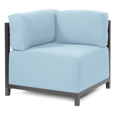 Woodsen Corner Chair Slipcover Upholstery: Seascape Breeze