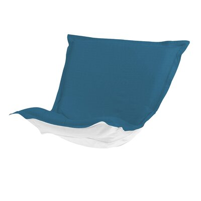 Puff Chair Cover Color: Seascape Turquoise
