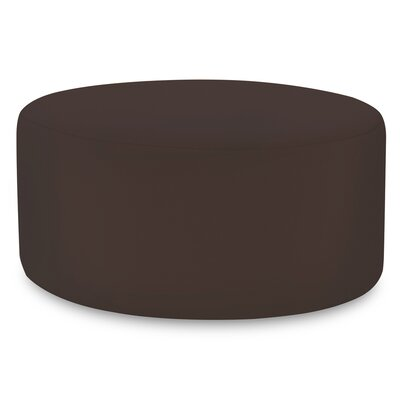 Universal Ottoman Cover Color: Seascape Chocolate