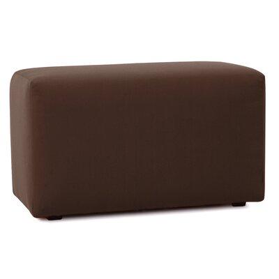 Fenham Bench Cover Color: Seascape Chocolate