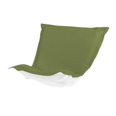 Puff Chair Cover Color: Seascape Moss