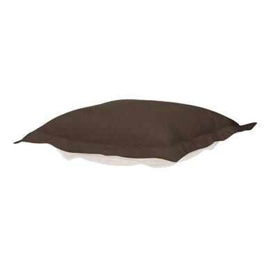 Puff Ottoman Cover Color: Seascape Chocolate