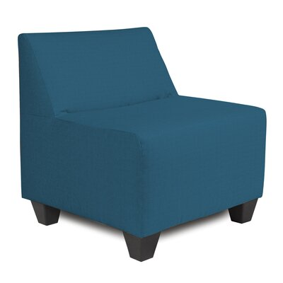 Cunningham Slipper Chair Upholstery: Seascape Turquoise