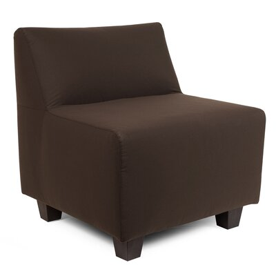 Cunningham Slipper Chair Upholstery: Seascape Chocolate