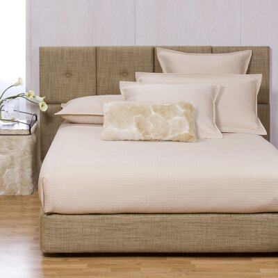 Gosnell Upholstered Panel Bed Size: Full, Color: Coco Stone
