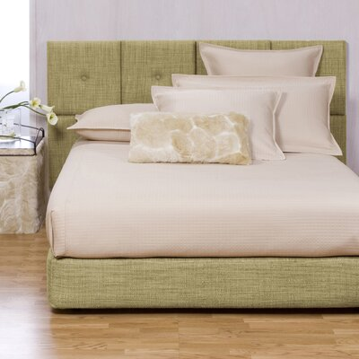 Gosnell Upholstered Panel Bed Size: Queen, Color: Coco Peridot
