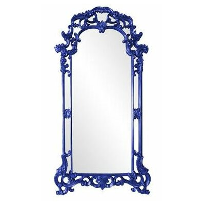 Arch/Crowned top Bronze with Antique Silver Mirror Finish: Royal Blue
