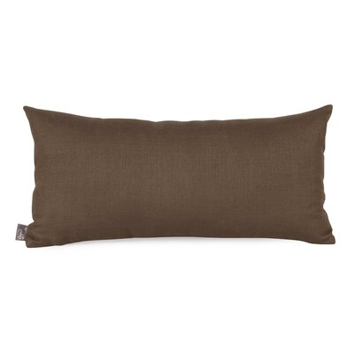 Lovina Kidney Lumbar Pillow Color: Chocolate