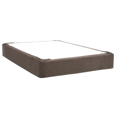 Mattingly Bed Skirt Color: Pewter, Size: Twin