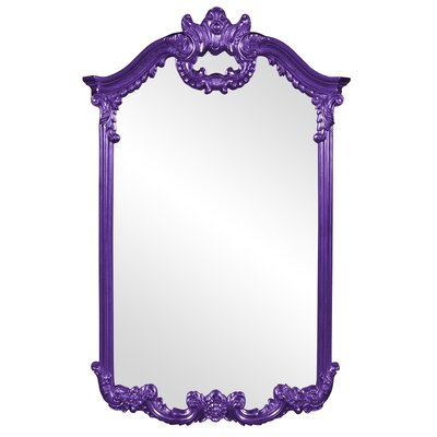 Ornate Glam Accent Mirror Finish: Royal Purple