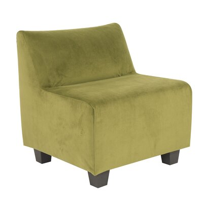 Mattingly Pod Polyester Dining Chair Slipcover Upholstery: Moss