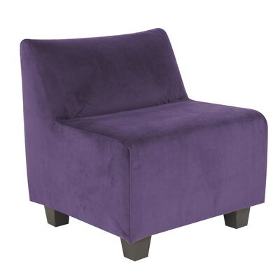 Mattingly Pod Polyester Dining Chair Slipcover Upholstery: Eggplant