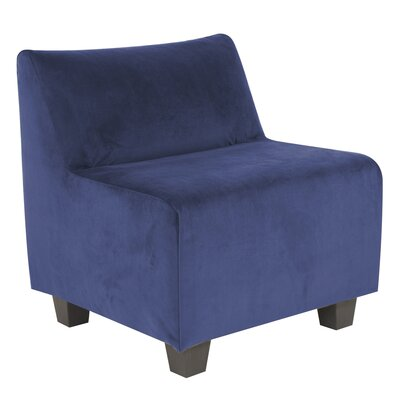 Mattingly Pod Polyester Dining Chair Slipcover Upholstery: Royal
