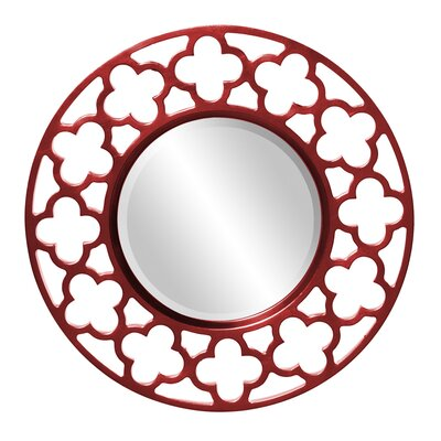 Howard Elliott Gaelic Wall Mirror Finish: Red 92007R