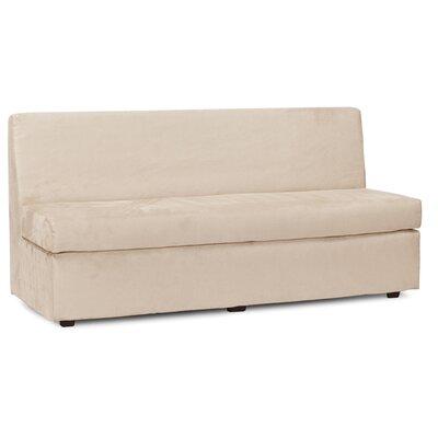 Mattingly Polyester Sofa Slipcover Upholstery: Sand