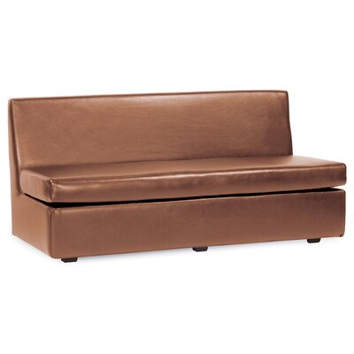 Serrano T-Cushion Sofa Slipcover Upholstery: Bronze