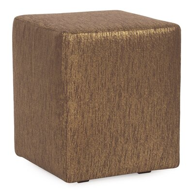 Alas Cube Ottoman Upholstery: Chocolate