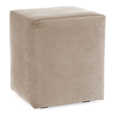 Mattingly Polyester Ottoman Slipcover Upholstery: Sand