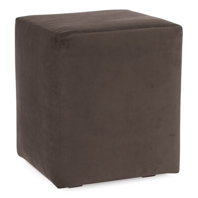 Mattingly Polyester Ottoman Slipcover Upholstery: Chocolate