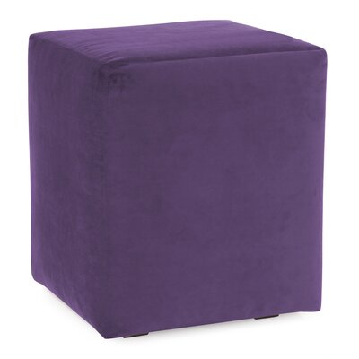 Mattingly Polyester Ottoman Slipcover Upholstery: Eggplant
