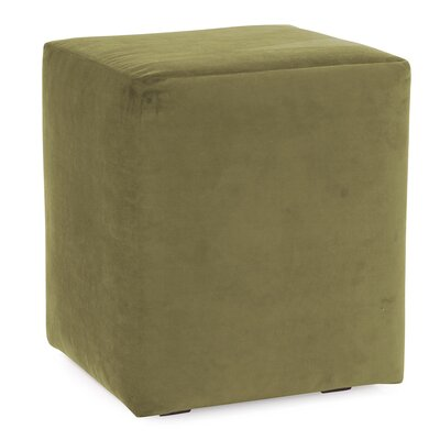 Mattingly Polyester Ottoman Slipcover Upholstery: Moss