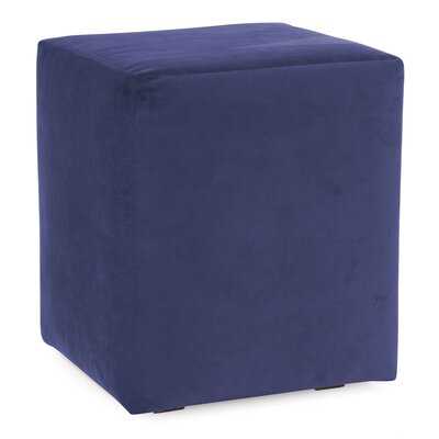 Mattingly Polyester Ottoman Slipcover Upholstery: Royal
