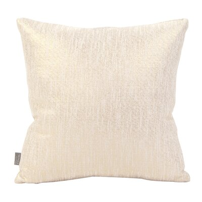 Alas Throw Pillow Size: 16 H x 16 W x 4 D, Color: Snow