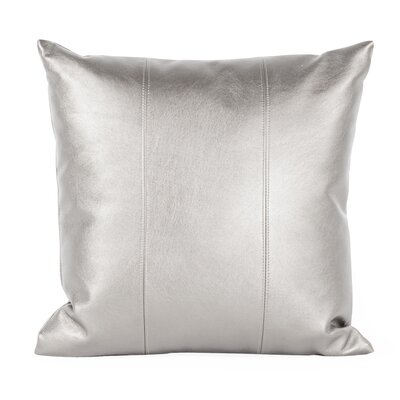 Serrano Throw Pillow Size: 16 H x 16 W x 4 D, Color: Mercury