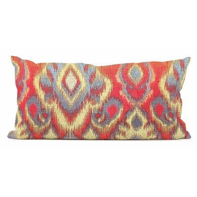 Capucine Kidney Lumbar Pillow Color: Fire