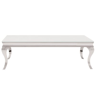 Amita Stainless Steel Coffee Table
