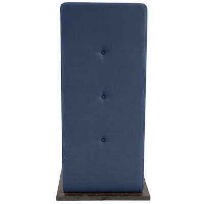 Alyssia L Attachable Table Upholstery: Indigo