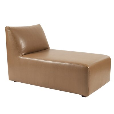 Leigh Woods Chaise Lounge Upholstery: Bronze