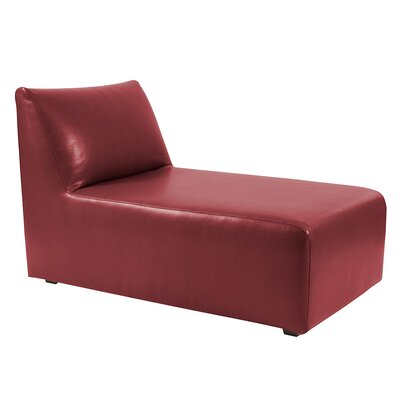 T-cushion Lounge Slipcover Upholstery: Apple