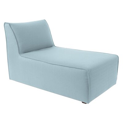 Hassan Chaise Lounge Upholstery: Breeze