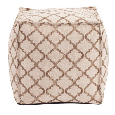 McBride Square Ottoman Upholstery: Gold