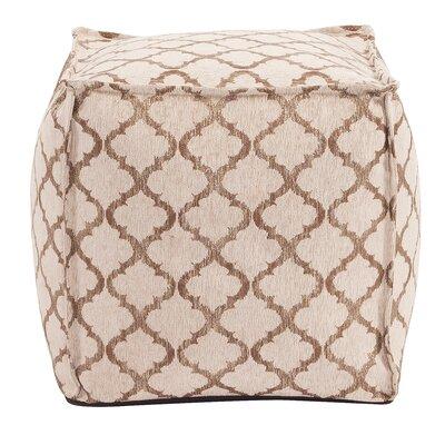 McBride Pouf Upholstery: Gold