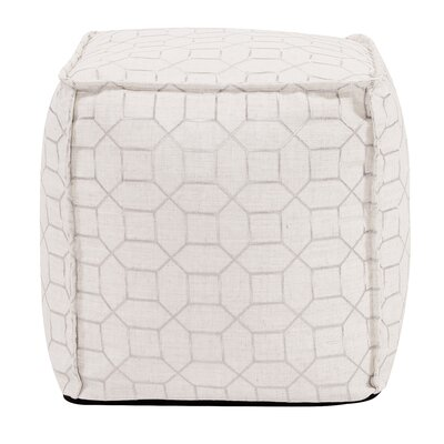 McBride Pouf Upholstery: Natural
