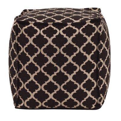 McBride Pouf Upholstery: Onyx