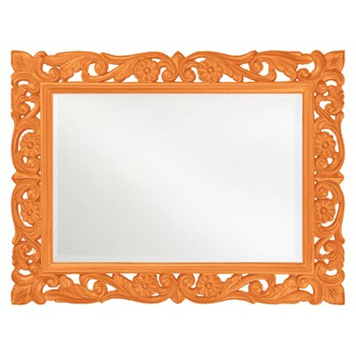 Lacquered and Lovely Mirror Finish: Orange