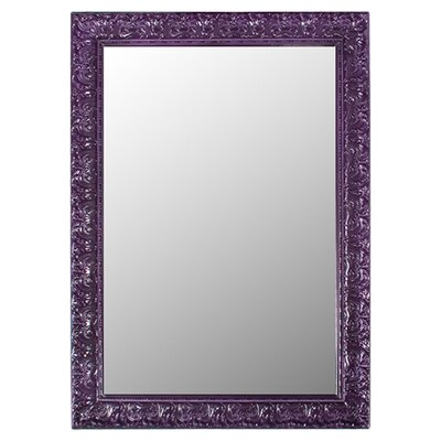 Rectangle Royal Purple Wall Mirror
