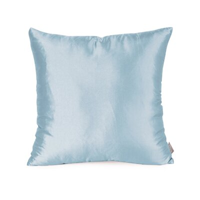 Silkara Throw Pillow Size: 16 x 16, Color: French Blue