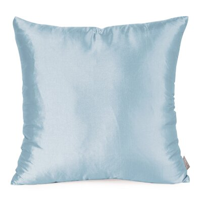 Silkara Throw Pillow Size: 20 x 20, Color: French Blue