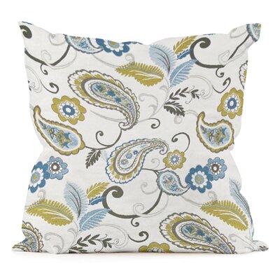 Paisley  Pillow Size: 20 H x 20 W