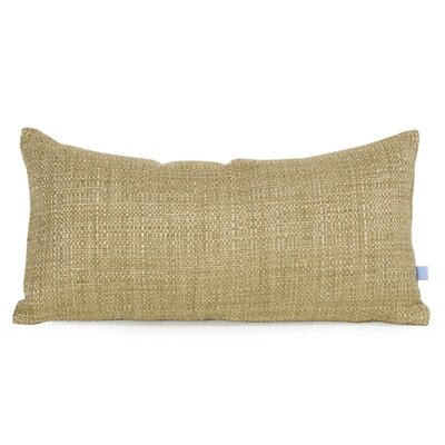 Lovina Coco Kidney Soft Burlap Lumbar Pillow Color: Peridot
